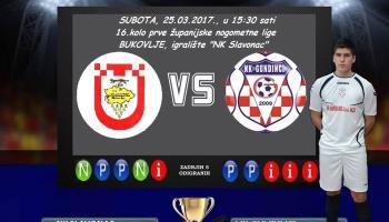 SENIORI: U subotu u goste kod ekipe Slavonca iz Bukovlja