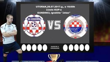 KUP: U utorak drugo kolo županijskog KUP-a